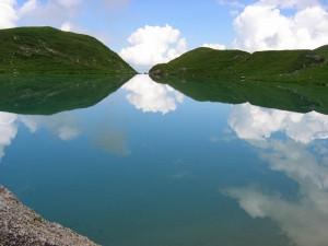Lac d'Amour dans le Beaufortain