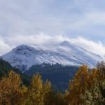 La montagne se pare de son manteau d'hiver
