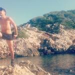 Rando maillot automnale au Sentier du littoral