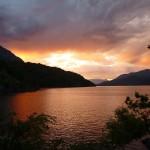 Ciel enflammé à Bariloche